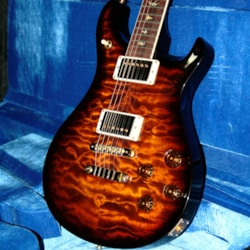 2018 Paul Reed Smith MINT  PRS Wood Library 594 Artist Quilt Top! Paul Reed Smith Cocobolo Swamp Ash