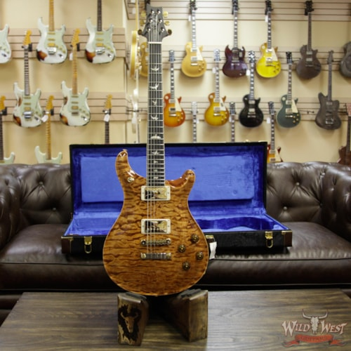2018 Paul Reed Smith / PRS 2018 Paul Redd Smith PRS Wood Libray Artist Package McCarty 594 Quilt Maple Top Ebony Board Copperhead Copperhead, Brand New