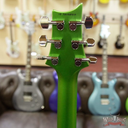 2018 Paul Reed Smith / PRS 2018 Paul Reed Smith PRS S2 Singlecut Rosewood Fretboard Satin Jewel Lime Metallic Satin Jewel Lime Metallic, Brand New