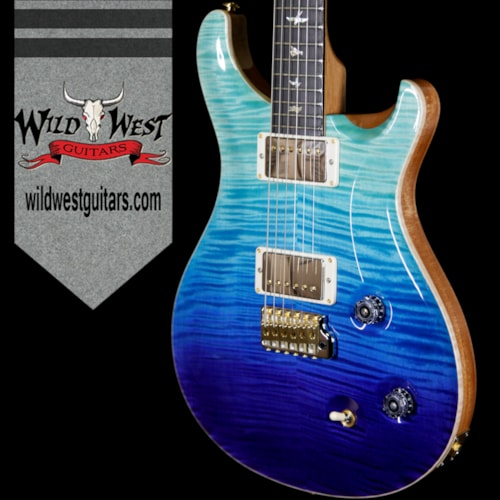2018 Paul Reed Smith / PRS 2018 Paul Reed Smith PRS Wood Library Artist Package Custom 22 Flame Maple Top Ebony Fretboard Blue Fade Blue Fade, Brand New, $5,099.00