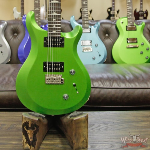 2018 Paul Reed Smith / PRS 2018 Paul Reed Smith PRS S2 Custom 22 Rosewood Fretboard Satin Jewel Lime Metallic Satin Jewel Lime Metallic, Brand New