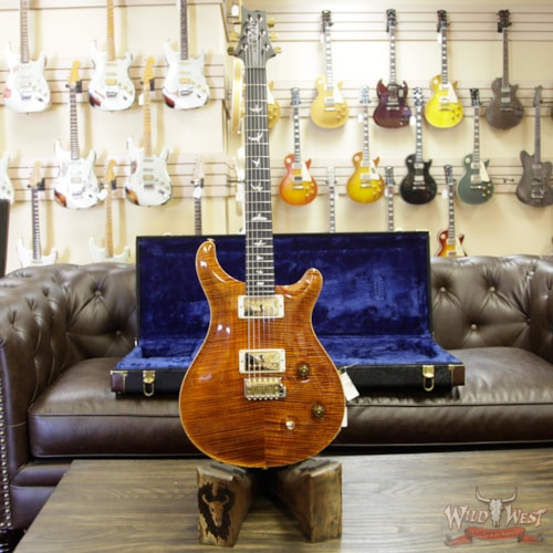 2018 Paul Reed Smith / PRS 2018 PRS Wood Library Artist Package Custom 22 Flame Maple Top Ebony Fretboard Yellow Tiger Yellow Tiger, Brand New