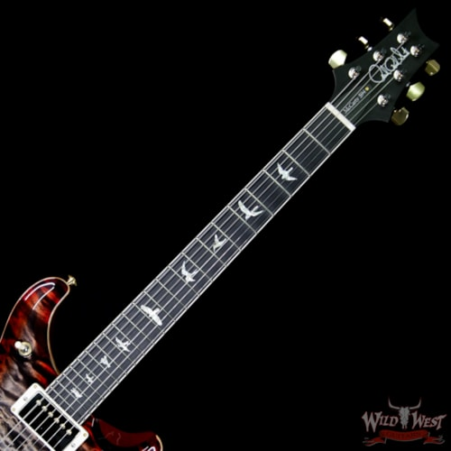 2018 Paul Reed Smith / PRS 2018 PRS Wood Libray Artist Package McCarty 594 Quilt Maple Top Ebony Board Charcoal Cherry Burst Charcoal Cherry Burst, Brand New