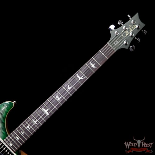 2018 Paul Reed Smith / PRS Paul Reed Smith PRS WWG Special Run CE 24 Flame Maple Top 57/08 Pickups Faded Gray Black Green Burst 251440 Faded Gray Black Green Burst, Brand New