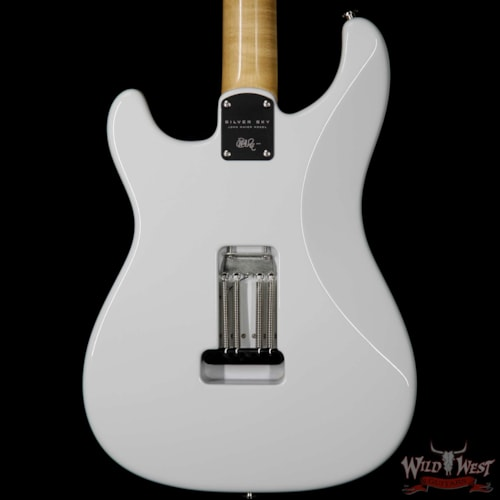 2018 PRS - Paul Reed Smith Paul Reed Smith PRS John Mayer Signature Model Silver Sky Bolt-On Maple Neck Rosewood Board Frost White Frost
