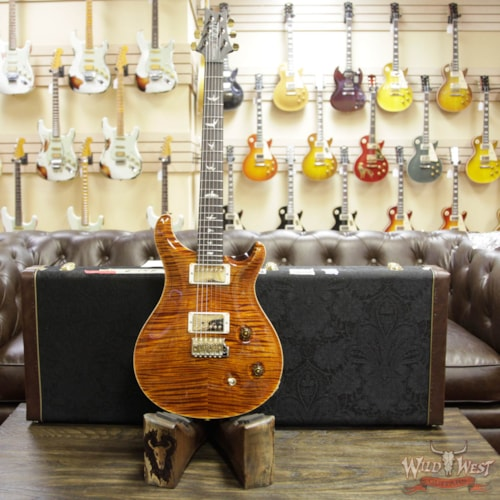 2018 Paul Reed Smith / PRS Paul Reed Smith PRS Wood Library Artist Package Custom 22 Flame Maple Top Brazilian Rosewood Board Yellow Tiger Yellow Tiger, Brand New