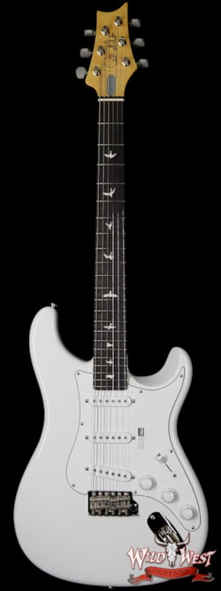 2018 PRS - Paul Reed Smith Paul Reed Smith PRS John Mayer Signature Model Silver Sky Bolt-On Maple Neck Rosewood Board Frost White