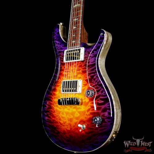 2018 Paul Reed Smith - PRS PRS Private Stock #7477 Violin II Quilt Maple Top Honduran Rosewood Neck Cocobolo Board Indian Ocean Sunset Glow Indian Ocean Sunset Glow