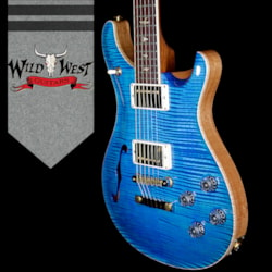 2018 Paul Reed Smith - PRS PRS Wood Library 10 Top McCarty 594 Semi-Hollow Flame Maple Top Cocobolo Fingerboard Aquamarine