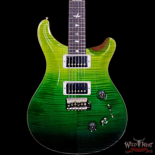 2018 Paul Reed Smith - PRS PRS Wood Library 10 Top Custom 24-08 Flame Maple Top Cocobolo Fingerboard Green Fade xxxxx, Brand New, $4,799.00