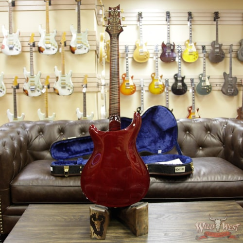 2018 Paul Reed Smith / PRS PRS Wood Library Flame 10 Top Hollowbody I Piezo HB1 Brazilian Rosewood Board Charcoal Cherry Burst Charcoal Cherry Burst, Brand New, $5,399.00