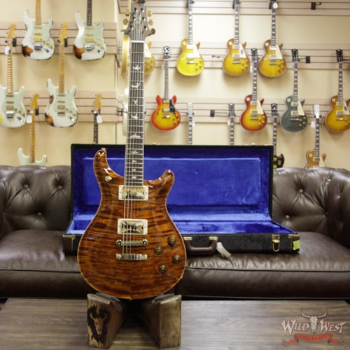 2018 Paul Reed Smith / PRS PRS Wood Libray Artist Package McCarty 594 Quilt Maple Top Brazilian Rosewood Board Yellow Tiger Yellow Tiger, Brand New