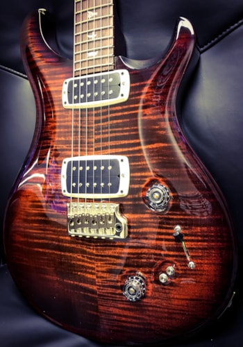 2018 Paul Reed Smith Prs 408 Maple Top Pattern Neck Electric Guitar