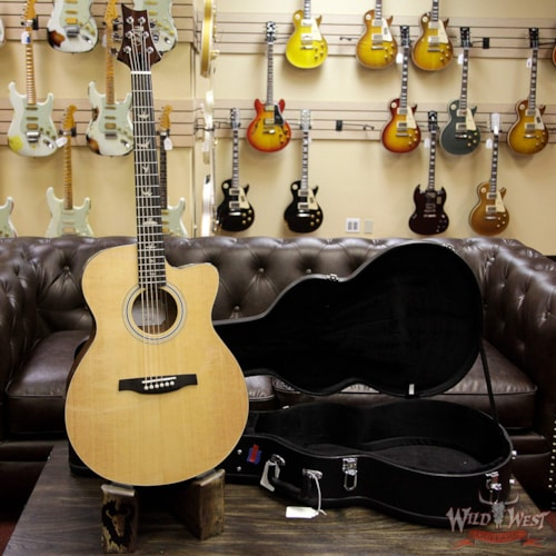 2018 PAUL REED SMITH PRS SE All-New 2018 Electric Acoustic AX20E Ebony Fretboard Natural Natural, Brand New