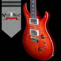 2018 Paul Reed Smith -PRS PRS Wood Library 10 Top Custom 24-08 Flame Maple Top Cocobolo Fingerboard Blood Orange