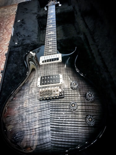 2018 Paul Reed Smith PRS Tremonti 10 Top Electric Guitar Charcoal Burst Brand New, Hard