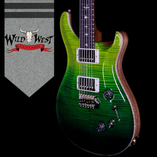 2018 Paul Reed Smith PRS  Wood Library 10 Top Custom 24-08  Green Fade, Brand New, Original Hard