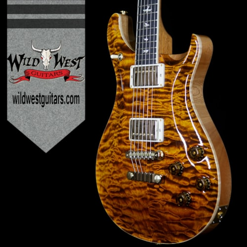 2018 Paul Reed Smith PRS Wood Library Artist Package McCarty 594 Quilt Maple Top Ebony Fretboard Yellow Tiger Yellow Tiger, Brand New