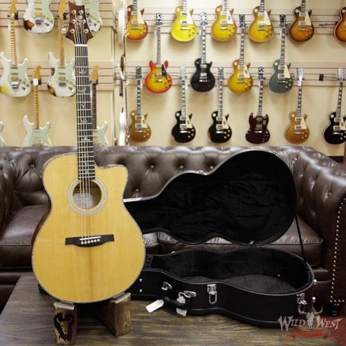 2018 Paul Reed Smith SE Paul Reed Smith PRS SE All-New 2018 Electric Acoustic A50E Ebony Fretboard Flame Maple Side & Back Natural, Brand New, $899.00