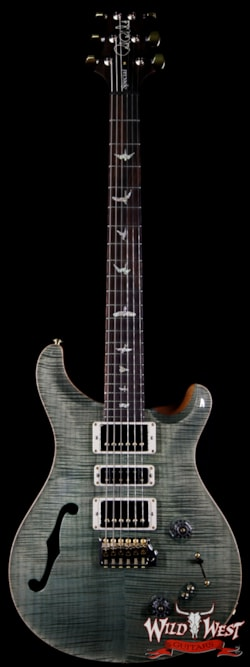 2018 Paul Reed Smith Wood Library Flame 10 Top Special 22 Semi-Hollow
