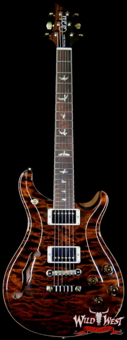 2018 Paul Reed Smith Wood Library Quilt 10 Top McCarty 594 Semi-Hollow