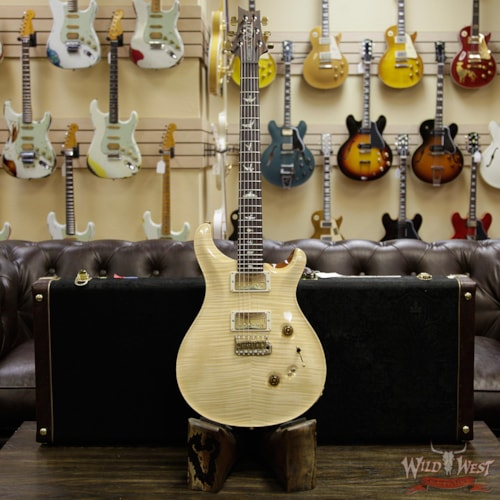 2018 PRS 2018 PRS Wood Library 10 Top Custom 24/08 Mahogany Neck Cocobolo Fretboard Natural Natural, Brand New