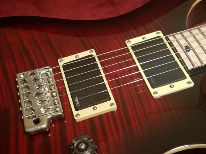 2018 PRS Custom 24 SE w/ Maple Fingerboard Black Cherry