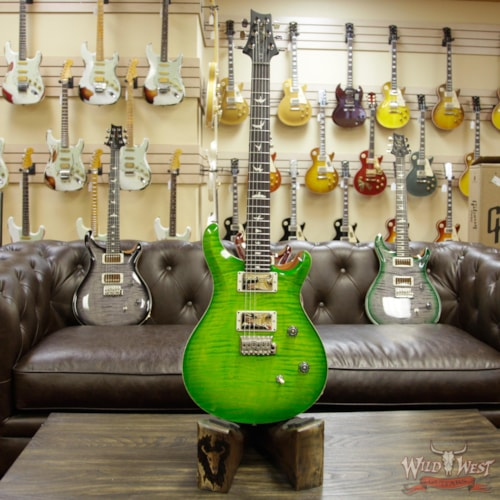 2018 PRS - Paul Reed Smith Paul Reed Smith PRS Wild West Guitars Special Run CE 24 Flame Top 57/08 Pickups Eriza Verde 251455 Eriza Verde, Brand New