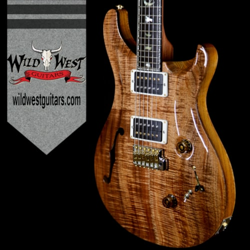 2018 PRS - Paul Reed Smith PRS Private Stock 7043 Custom 24-08 Semi-Hollow Tasmanian Blackwood Top Tulip Neck Ebony Fretboard Natural Natural, Brand New