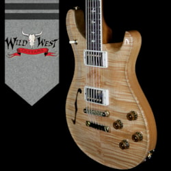 2018 PRS Wood Library 10 Top McCarty 594 Semi-Hollow Flame Maple Top Cocobolo Fingerboard Natural