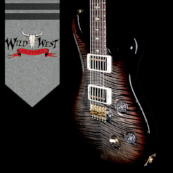 2018 PRS Wood Library 10 Top Custom 24 Flame Maple Top Korina Neck with Cocobolo Board Tricolor Burst