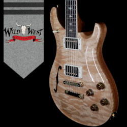 2018 PRS Wood Library Quilt 10 Top McCarty 594 Semi-Hollow Brazilian Rosewood Board Natural