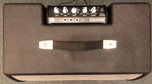 2018 Quilter 101 Mini Head with Blockdock 2x8 Cabinet Black