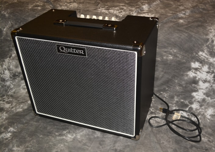 2018 Quilter Blockdock 12 Cab and 200 Reverb Head Black, Brand New