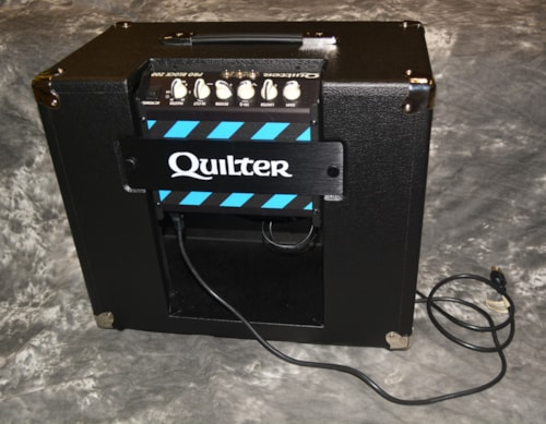 2019 Quilter Blockdock 12 Cab and 200 Reverb Head Black