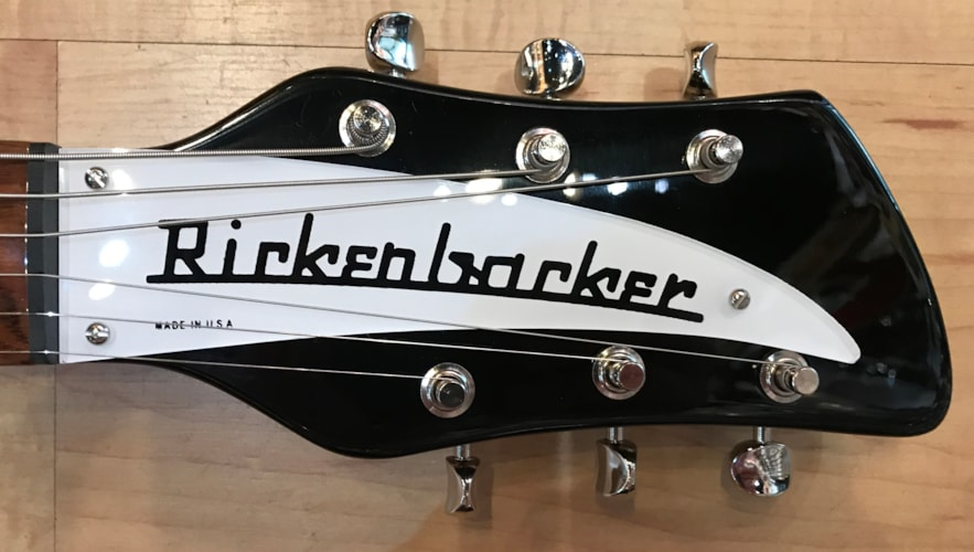 2018 Rickenbacker 325C64 Electric Guitar JetGlo, Brand New, Hard, Call For Price!