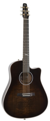 2018 SEAGULL ARTIST PEPPINO SIGNATURE CW Bourbon Burst Anthem
