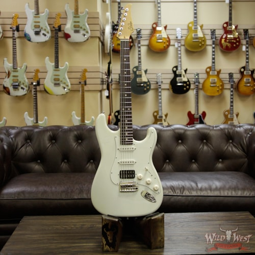 2018 Suhr Classic S (Classic Pro) HSS Maple Neck Rosewood Fingerboard Olympic White Olympic White