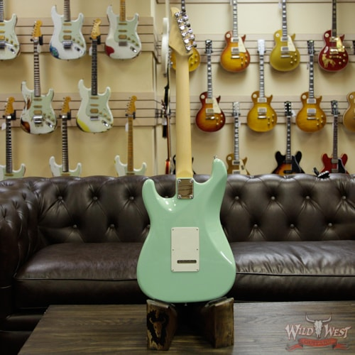 2018 Suhr Classic S (Classic Pro) HSS Quartersawn Maple Neck & Fingerboard Surf Green Surf Green, Brand New