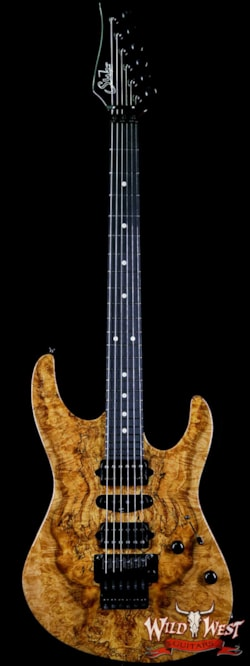 2018 Suhr Modern HSH Floyd Spalted Maple Top