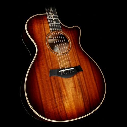 2018 Taylor K22ce Grand Concert Acoustic Guitar 2018 Shaded Edgeburst