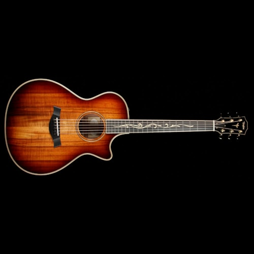 2018 Taylor K22ce Grand Concert Acoustic Guitar 2018 Shaded Edgeburst Brand New $4,499.00