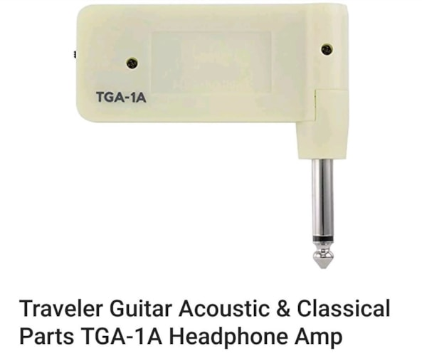 2018 Traveler Headphone Amp Acoustic TGA-1A Bone, Brand New