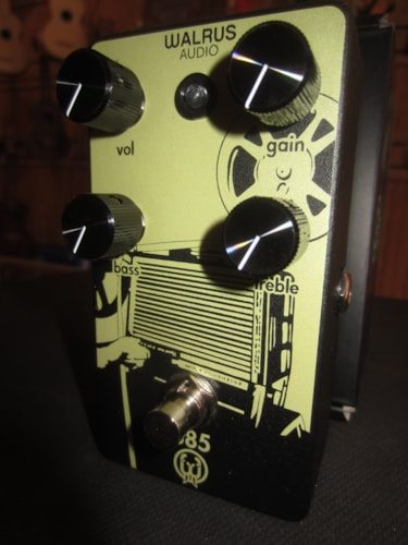 2018 Walrus Audio 385 Overdrive Yellow, Brand New, Original Soft, $199.00