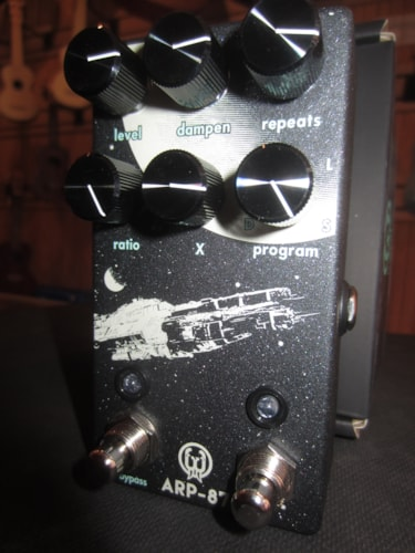 2018 Walrus Audio ARP-87 Multi-Function Delay Grey, Brand New, Original Soft, $199.00