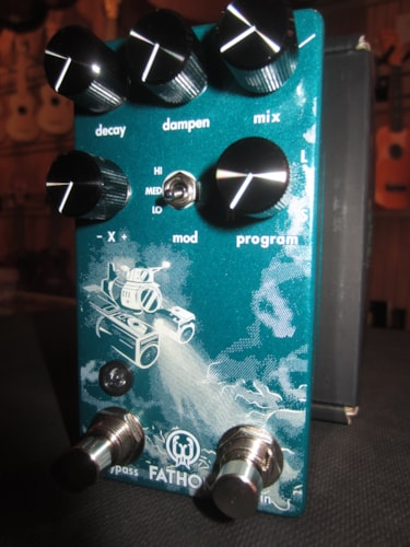 2019 Walrus Audio Fathom Multi-Function Reverb Blue