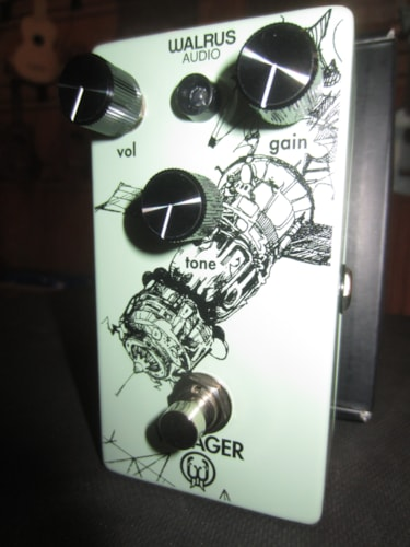 2019 Walrus Audio Voyager Preamp/Overdrive White