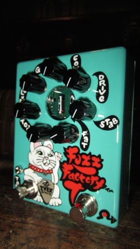 2018 ZVEX Fuzz Factory 7 Hand Painted Blue, Brand New, Original Soft, $469.00