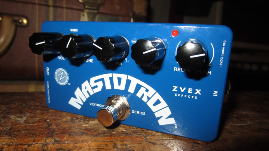 2018 ZVEX Mastotron Brand New, Original Soft