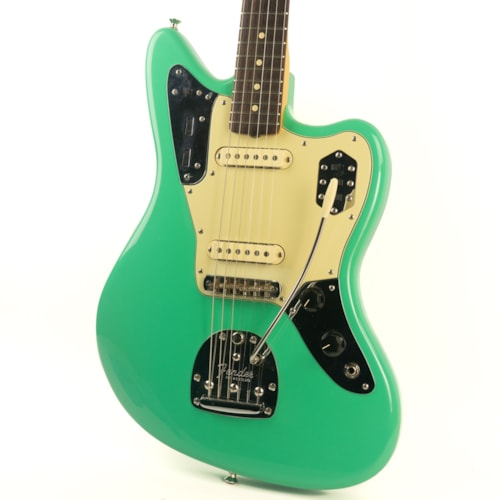 2008 Fender 62 Avri Thin Skin Jaguar Seafoam Green